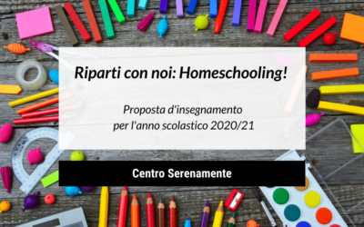 Riparti con noi: Homeschooling!