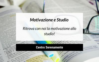 Ritrova con noi la motivazione allo studio!